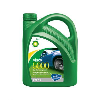 Масло моторное для автомобиля BP Visco 5000 5W-40 4 л в Уфе