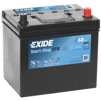 EXIDE Start-Stop EFB 60Ah Asia