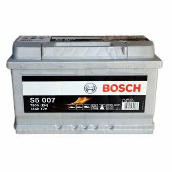 BOSCH S5 74 Ah низкий