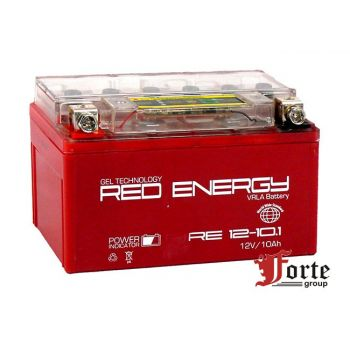 Red Energy (RE) DS 12-10.1 GEL, стартерный аккумулятор для мототехники и скутеров.