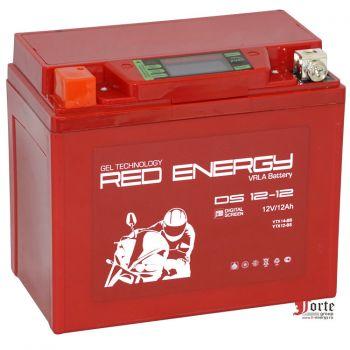 Red Energy (RE) DS 12-12 GEL, стартерный аккумулятор для мототехники и скутеров.