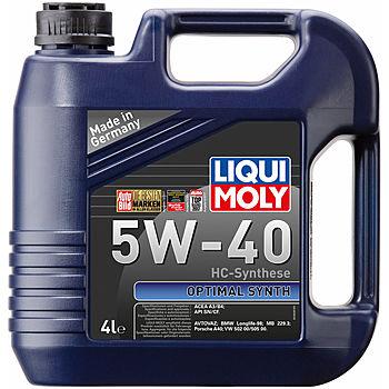 LIQUI MOLY Optimal Synth 5W-40 синт 4 л