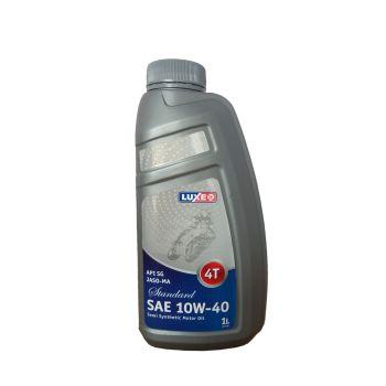 Масло для 4Т ДВИГАТЕЛЕЙ LUXE 4T SUPER JASO-MA-2 SAE 10W-40 п/с 1 л