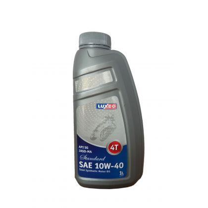 Масло моторное для 4Т ДВИГАТЕЛЕЙ LUXE 4T SUPER JASO-MA-2 SAE 10W-40 1 л в Уфе