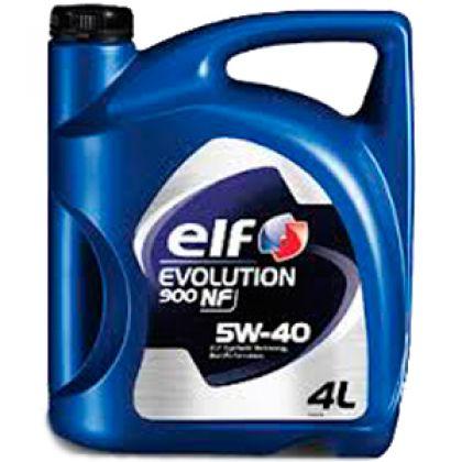 Масло моторное для автомобиля ELF EVOLUTION 900 NF 5W-40 4 л в Уфе