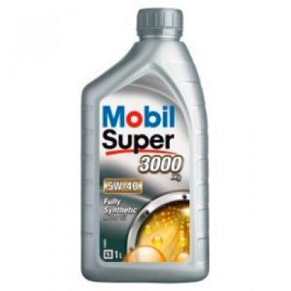 Масло моторное для автомобиля Mobil Super 3000 X1 5W40 1 л в Уфе