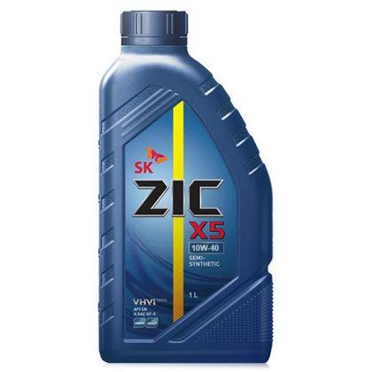 Масло моторное для автомобиля Zic X5 10W40 1 л в Уфе