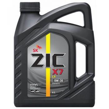 Zic X7 LS 5W30 SN/CF синт. 4 л