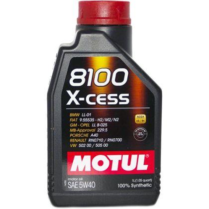 Масло моторное для автомобиля MOTUL 8100 X-cess 5W40 1 л в Уфе