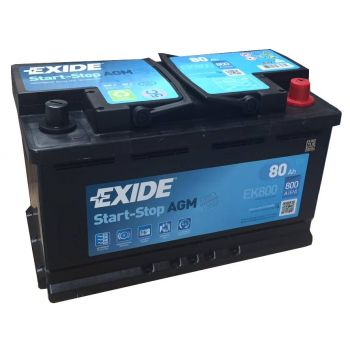EXIDE Start-Stop AGM 80Ah О.П.