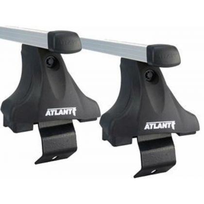 Багажник/Комплект адаптеров LadaVesta,Vesta Cross (4-dr sed) 15-17,18-... Атлант 7216/Комплект опор Е (гладкая крыша) Атлант 7002/Алюминиевая дуга 20х30 L=1100 комплект 2 шт.тип В. Атлант 8825