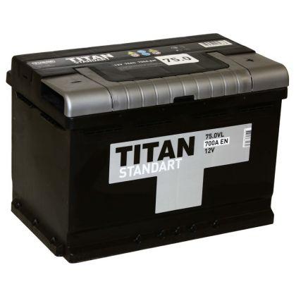 TITAN STANDART 75 Ah О.П.