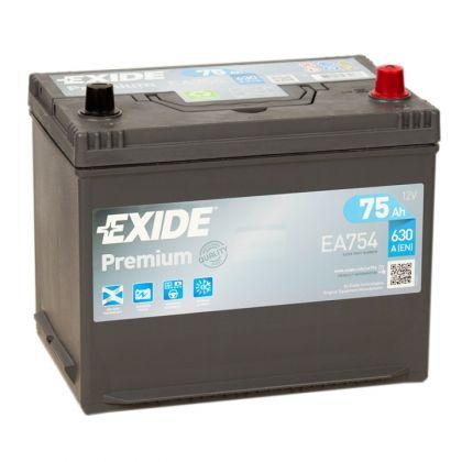 EXIDE Premium 75 Ah Asia О.П.