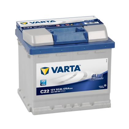 VARTA Blue Dynamic 52 Ah О.П.