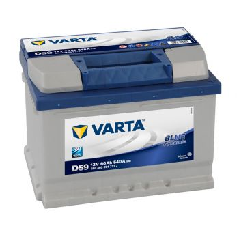 VARTA Blue Dynamic 60 Ah низкий О.П.