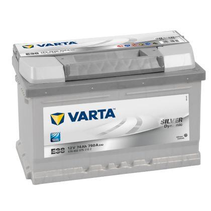 VARTA Slver Dynamic 74 Ah низкий О.П.