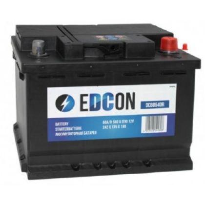 EDCON 60Ah низкий О.П.