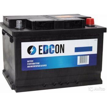 EDCON 80Ah низкий О.П.