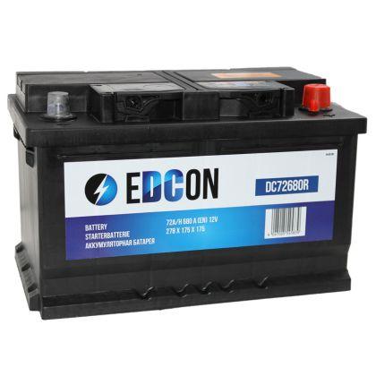 EDCON 72Ah низкий О.П.