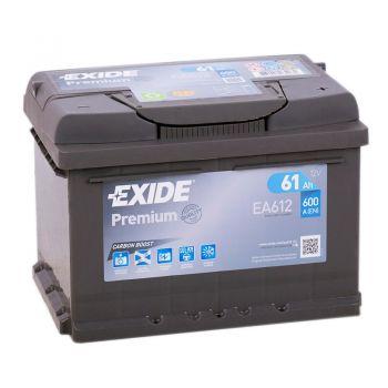 EXIDE Premium 61Ah низкий О.П.