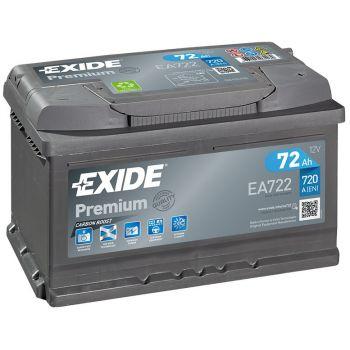EXIDE Premium 72Ah низкий О.П.