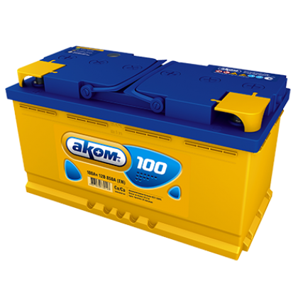 Аккумулятор AKOM 100 Ah О.П. в Уфе