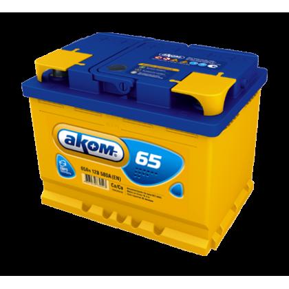 Аккумулятор AKOM 65 Ah О.П. в Уфе