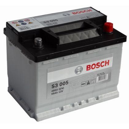 Аккумулятор BOSCH S3 56 Ah П.П. в Уфе