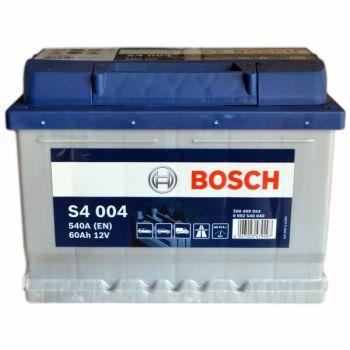 BOSCH S4  60 Ah низкий О.П.