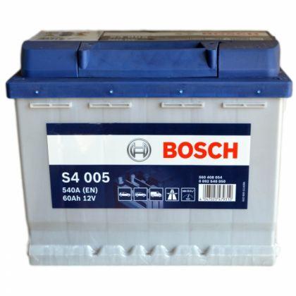 Аккумулятор BOSCH S4  60 Ah П.П. в Уфе