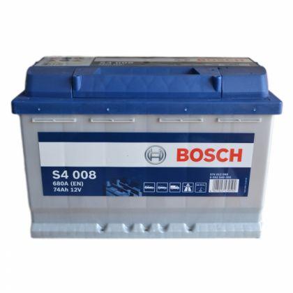 Аккумулятор BOSCH S4 72 Ah низкий О.П. в Уфе