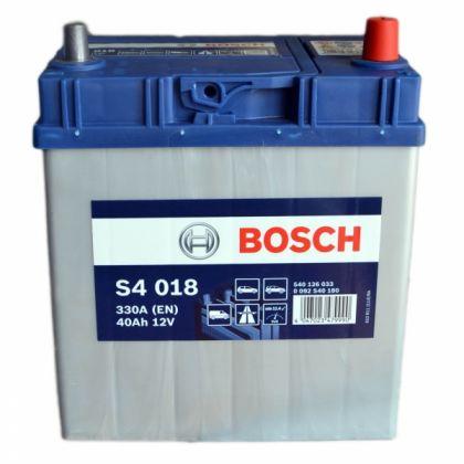 Аккумулятор BOSCH S4 40 Ah Asia узк/кл П.П. в Уфе