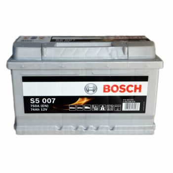 BOSCH S5 74 Ah низкий О.П.