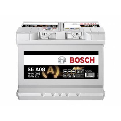 Аккумулятор BOSCH S5 70 Ah AGM О.П. в Уфе