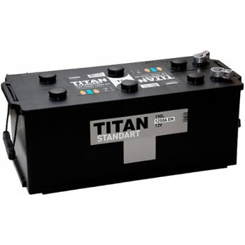 TITAN STANDART 190Ah П.П.