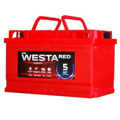 WESTA RED 74Ah О.П.