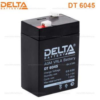 Delta DT 6045 (6V / 4.5Ah)