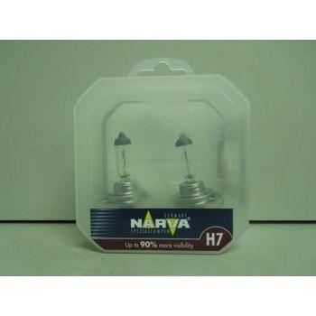 Лампа NARVA H7-12-55 +90% RANGE POWER набор 2шт