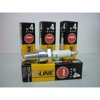 NGK свеча зажигания ngk v-line 04 bp6e ваз 2101-07 нива nissan 4шт