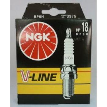NGK свеча зажигания ngk v-line 18 bp6h газ 402 honda renault 4шт