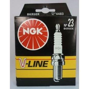 NGK свеча зажигания ngk v-line 23 bkr5ek nexia dohc opel pegueot-406 2-х элект