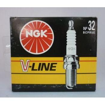 NGK свеча зажигания ngk v-line 32 bcpr5e citroen nissan peugeot skoda renault 4шт