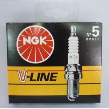 NGK свеча зажигания ngk v-line 05 bp6ef ford 18-20 mb 124 201 renault volvo 4шт