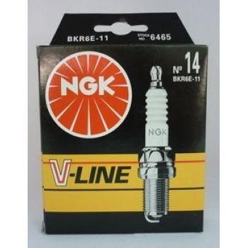 NGK свеча зажигания ngk v-line 14 bkr6e-11 spectra 15-18 rio ii dohc nexia dohc mazda honda toyota logan largus
