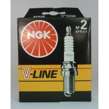 NGK свеча зажигания ngk vline 02 bpr6e nexia sohc ваз 210899 ока 4шт