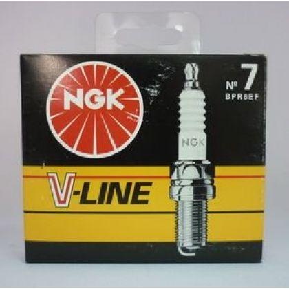 NGK свеча зажигания ngk v-line 07 bpr6ef ford renault peugeot 4шт