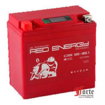 Red Energy (RE) DS 12-16.1, стартерный аккумулятор для мототехники и скутеров.