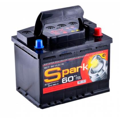 Аккумулятор SPARK 55 Ah П.П. в Уфе