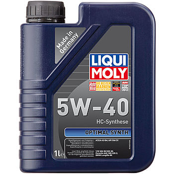 LIQUI MOLY Optimal Synth 5W-40 синт 1 л