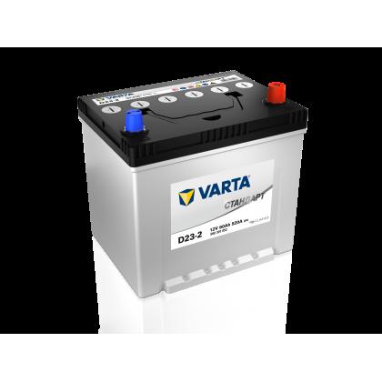 Купить аккумулятор VARTA STANDART 60 Ah ASIA обратной полярности
